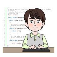 웹 개발자의 설명을 돕기 위한 일러스트