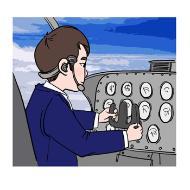 비행기조종사