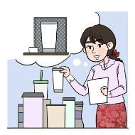 상품기획 전문가의 설명을 돕기 위한 일러스트