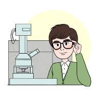 나노공학기술자의 설명을 돕기 위한 일러스트