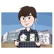 녹색(친환경)건축 전문가의 설명을 돕기 위한 일러스트