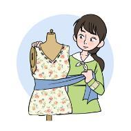 패션디자이너의 이래를 돕기위한 일러스트